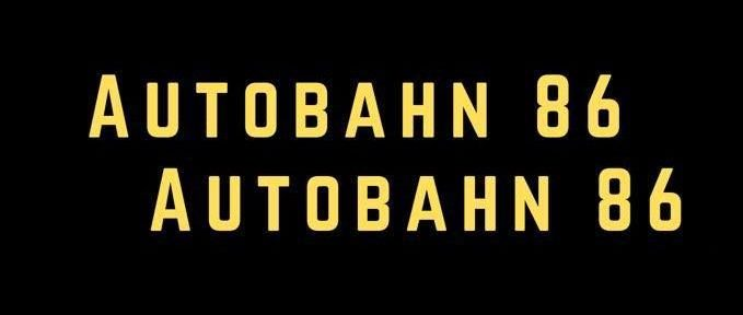 Autobahn 86 // 'Silence Ft. Johnny Madden'